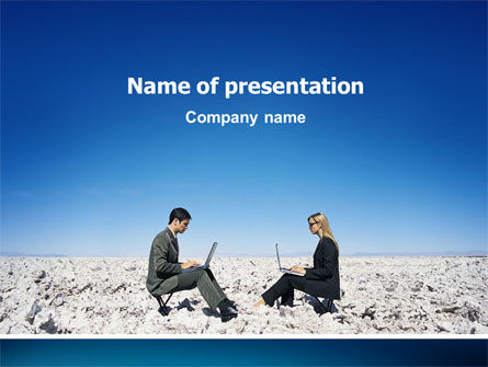 Business Concepts: Internet Communication PowerPoint Template #02631