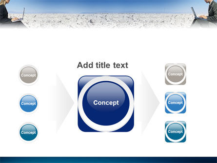 Internet Communication PowerPoint Template Slide 17