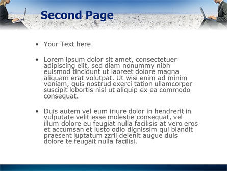Internet Communication PowerPoint Template Slide 2
