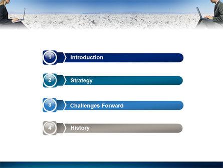 Internet Communication PowerPoint Template, Slide 3, 02631, Business Concepts — PoweredTemplate.com