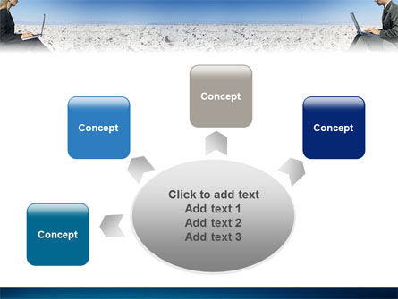 Internet Communication PowerPoint Template Slide 7