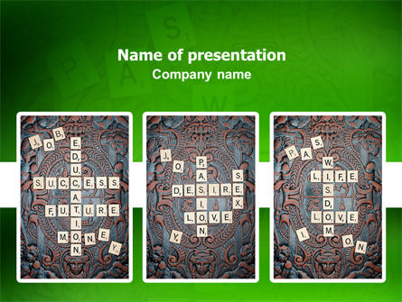 Art & Entertainment: Board Game PowerPoint Template #02633