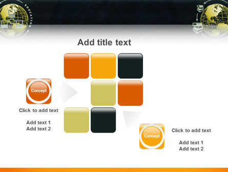 Distance Education PowerPoint Template Slide 16