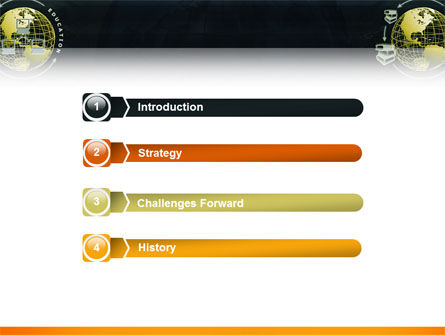 Distance Education PowerPoint Template Slide 3