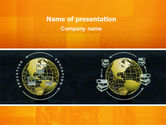 Education & Training: Distance Education PowerPoint Template #02637