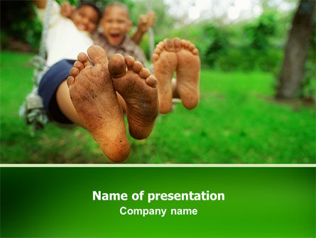 People: Playground PowerPoint Template #02638