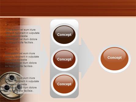 Waitress PowerPoint Template Slide 11