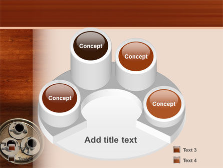 Waitress PowerPoint Template Slide 12