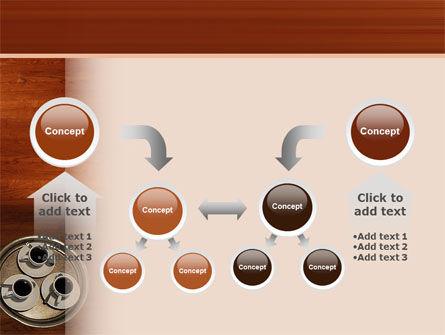 Waitress PowerPoint Template Slide 19