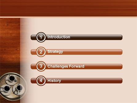 Waitress PowerPoint Template, Slide 3, 02639, Careers/Industry — PoweredTemplate.com