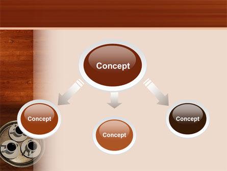 Waitress PowerPoint Template, Slide 4, 02639, Careers/Industry — PoweredTemplate.com