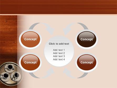 Waitress PowerPoint Template Slide 6
