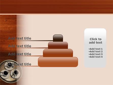 Waitress PowerPoint Template Slide 8