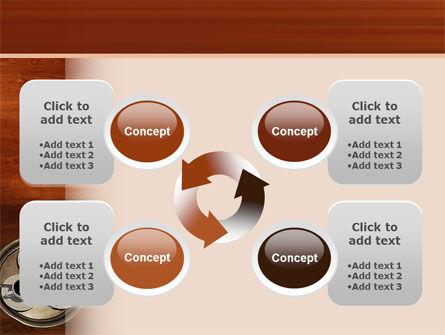 Waitress PowerPoint Template Slide 9