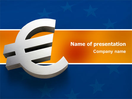 European Union PowerPoint Template, 02642, Financial/Accounting — PoweredTemplate.com