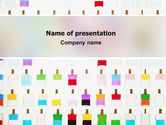 Careers/Industry: Perfume PowerPoint Template #02643
