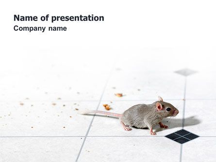 Animals and Pets: Mouse PowerPoint Template #02644