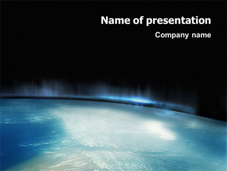Technology and Science: Aurora PowerPoint Template #02645