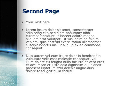 Aurora PowerPoint Template Slide 2