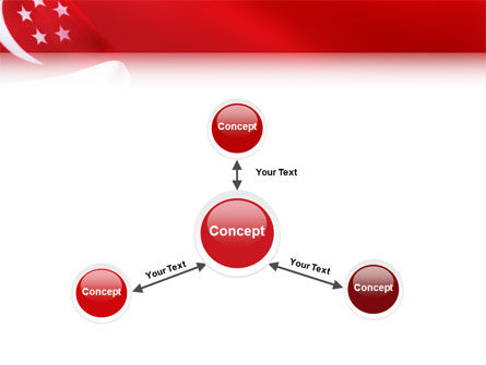 Flag of Singapore PowerPoint Template Slide 14