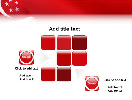 Flag of Singapore PowerPoint Template Slide 16