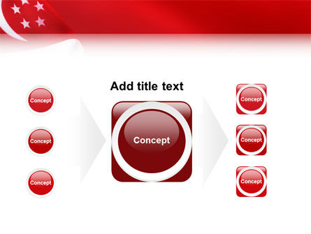 Flag of Singapore PowerPoint Template Slide 17
