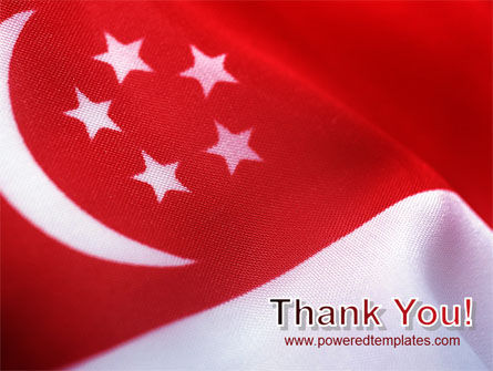 Flag of Singapore PowerPoint Template Slide 20