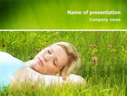 Rest PowerPoint Template