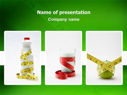 Diet PowerPoint Template, 02653, Medical — PoweredTemplate.com