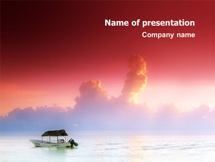 Nature & Environment: Sunrise PowerPoint Template #02655