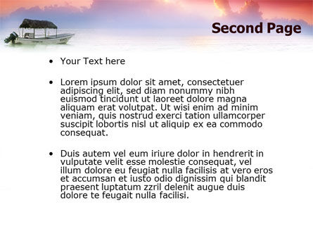 Sunrise PowerPoint Template Slide 2