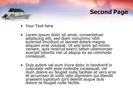 Sunrise PowerPoint Template, Slide 2, 02655, Nature & Environment — PoweredTemplate.com