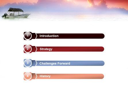 Sunrise PowerPoint Template, Slide 3, 02655, Nature & Environment — PoweredTemplate.com