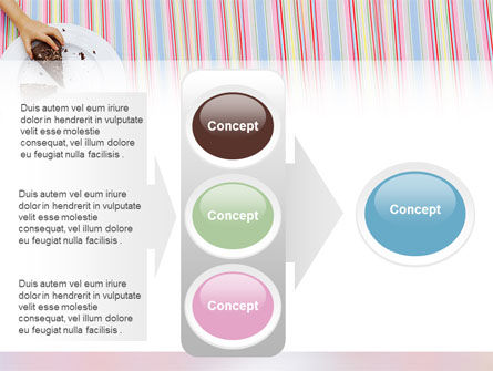 Piece of Cake PowerPoint Template Slide 11