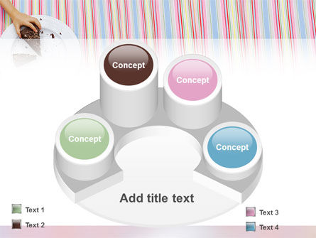 Piece of Cake PowerPoint Template Slide 12