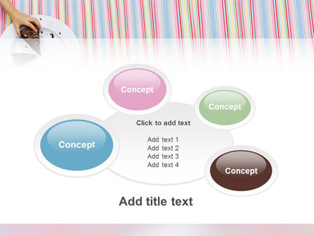 Piece of Cake PowerPoint Template Slide 16