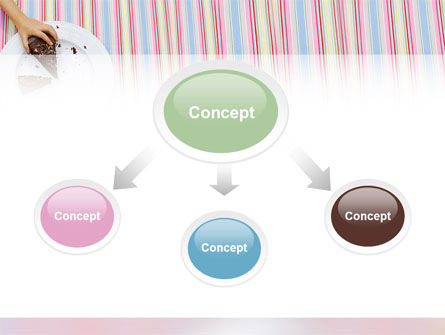 Piece of Cake PowerPoint Template, Slide 4, 02656, Food & Beverage — PoweredTemplate.com