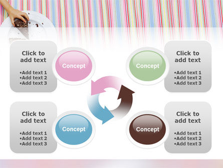 Piece of Cake PowerPoint Template Slide 9