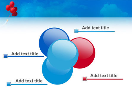 Celebration Balloons PowerPoint Template Slide 10