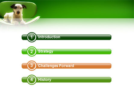 Puppy PowerPoint Template, Slide 3, 02658, Animals and Pets — PoweredTemplate.com