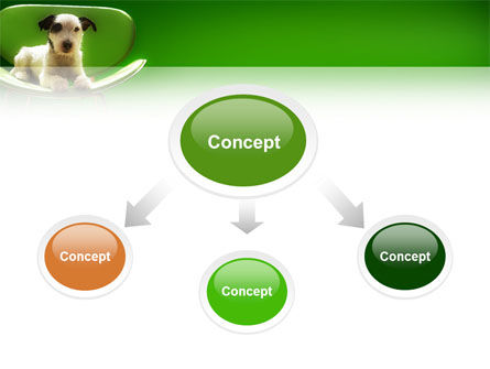 Puppy PowerPoint Template, Slide 4, 02658, Animals and Pets — PoweredTemplate.com