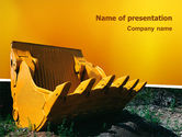 Utilities/Industrial: Dig PowerPoint Template #02659