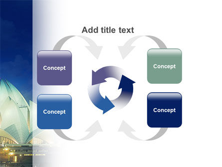 Lotus Temple PowerPoint Template Slide 6