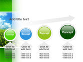 Green Field In A Sunny Day PowerPoint Template#13