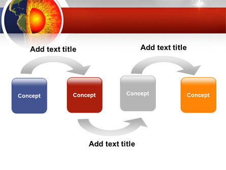 Earth Core PowerPoint Template, Slide 4, 02665, Technology and Science — PoweredTemplate.com