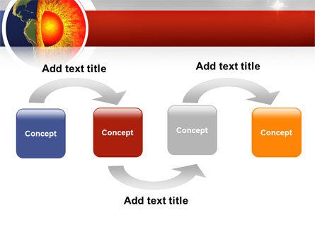 Earth Core PowerPoint Template Slide 4