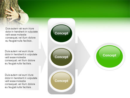 Tree PowerPoint Template Slide 11