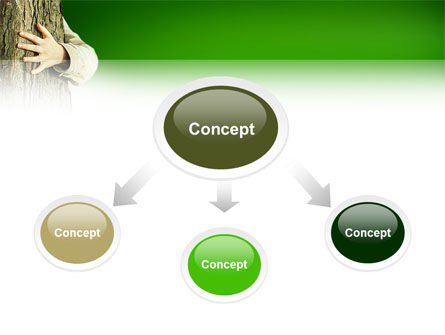 Tree PowerPoint Template, Slide 4, 02666, Nature & Environment — PoweredTemplate.com