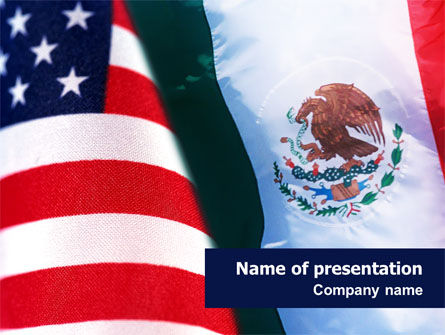 Mexico and USA PowerPoint Template
