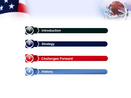 Mexico and USA PowerPoint Template Slide 3